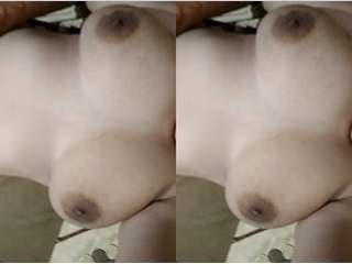 Today Exclusive- Sexy Desi Girl Showing Her Boobs and Pussy part 1