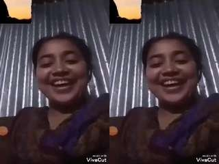 Today Exclusive- Bangladeshi Girl Showing Her Boobs and Pussy On Video Call Part 6