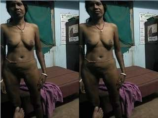 Today Exclusive- Desi Village Boudi Blowjob and FUcked Part 1