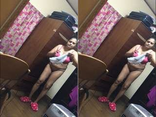 Today Exclusive – Lankan Wife Changing Cloths Record BY Hubby Part 2