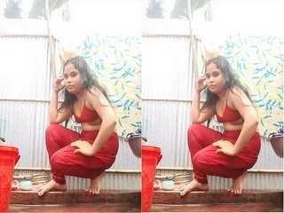 Today Exclusive- Desi Village Girl Fingering Part 4