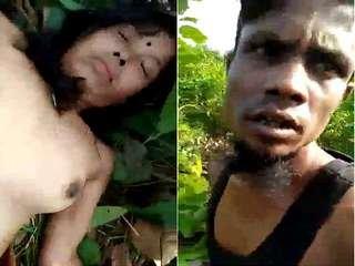 Today Exclusive- Assamese Randi OutDoor Fucking