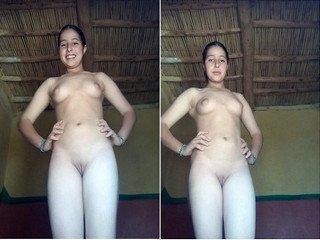 Desi Village Girl Showing Her Nude Buddy