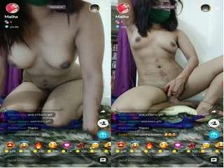 Today Exclusive – Sexy Desi Girl Maliha Hot Tango Show