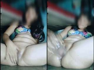 Today Exclusive – Sexy Desi Girl Showing Her Nude Body and  Masturbating Part 1