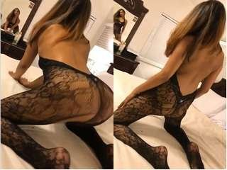 Today Exclusive- Sexy NRI Girl play with Dildo and Hard Fucked By Lover Part 3