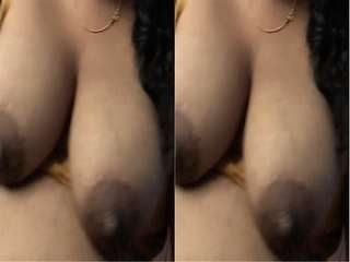 Today Exclusive- lanakan Bhabhi Big Boobs Record By Hubby