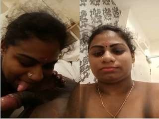 First On Net – Mallu Wife Showing Nude Body and Blowjob Part 3
