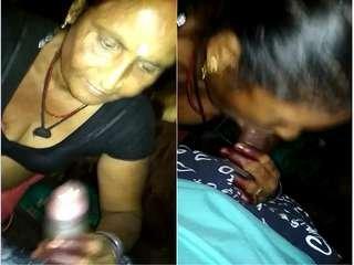 Today Exclusive- Desi Bhabhi Give Blowjob TO Dewar