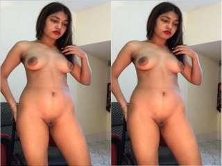 Today Exclusive-  Famous Desi Cpl Fucking and Wife Nude Dancing Part 1