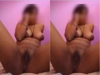 Today Exclusive- Sexy Desi Girl Showing Her boobs and Pussy part 2