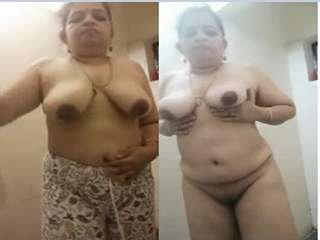 Today Exclusive- Horny Mallu Bhabhi Showing her Boobs and pussy part 2