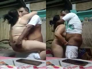 Today Exclusive- Desi Couple Romance and Fucking