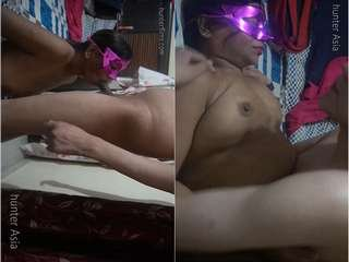Today Exclusive- Desi paid Randi Bhabhi Blowjob and Fucked Part 2