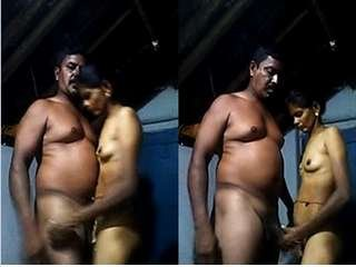Today Exclusive-Tamil Cpl Standing Fucked