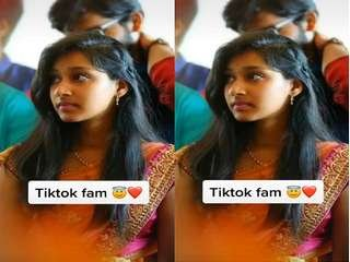 Today Exclusive- Cute Telugu Tiktokr Showing Her Nude Body and Masturbating Part 2