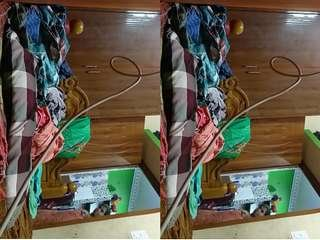 Today Exclusive- Tamil Bhabhi Changing Cloths Record in Hidden Cam