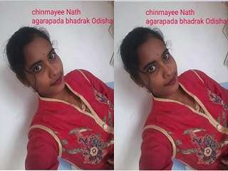 Today Exclusive- Sexy Odia Randi Chinu Reord Her Wearing Cloths Video Part 1