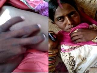 Today Exclusive- Bihari Cheating Wife Pussy Video Record By Lover