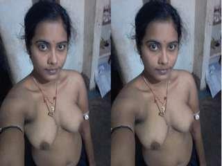 Today Exclusive- Famous Odia Randi Chinu Masturbating