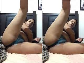 Today Exclusive- Lankan Bhabhi Showing Her Boobs and Pussy Part 2