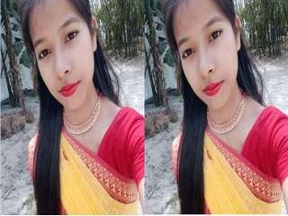 Today Exclusive- Cute Bangla Girl Showing Her Boobs Part 2