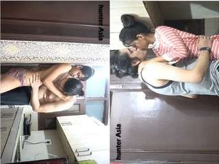Today Exclusive- Desi Guy Sexy With Hot Call Girls Part 1
