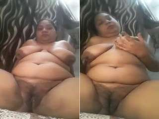 Today Exclusive-Horny Desi Bhabhi Showing Her Boobs and Pussy Part 11