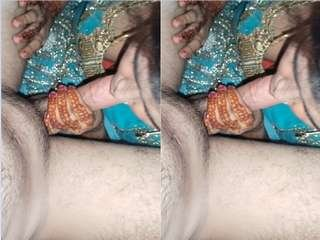 Today Exclusive – Paki Wife Blowjob and Fucking Part 3