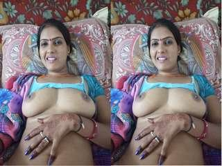 Today Exclusive – Sexy Desi Bhabhi Hard Fucked By Lover Part 2