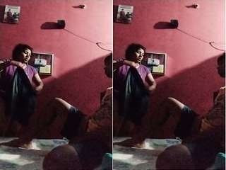 Today Exclusive- Desi Bhabhi Blowjob and Ridding Dick Part 5