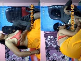 Exclusive- Sexy Desi Bhabhi Sugandha Blowjob and hard Fucked By Hubby