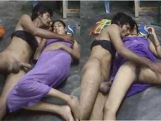 Exclusive- Desi Village Bhabhi boob sucking and Hard Fucked By Hubby