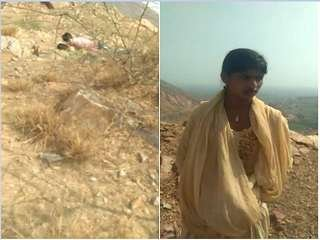 Today Exclusive- Desi Village Girl Caught By People while Outdoor Sex With lover