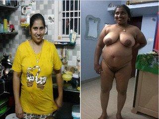 Exclusive- Big Boob Telugu Bahbhi Bathing