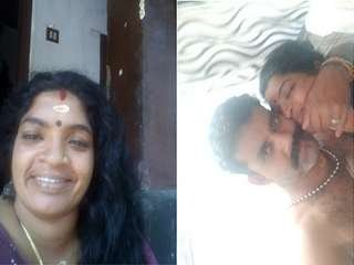 Today Exclusive- Horny Mallu Couple Romance and Blwjob part 2