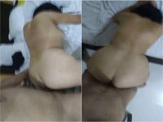 Today Exclusive- Big Ass Desi Wife HArd Fucked In Doggy Style