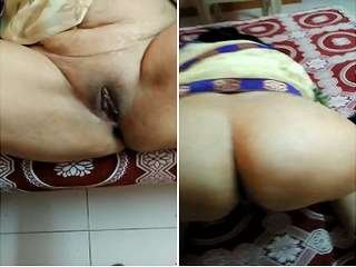 Today Exclusive- Big Ass Desi Wife Pussy Capture By Hubby