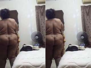 Today Exclusive- Desi Wife Big Ass Capture By hubby