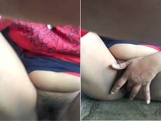 Today Exclusive- Horny Desi Wife Pussy Fingering