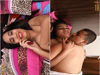 Today Exclusive- Horny Desi Clg Girl Romance and Sex With Lover