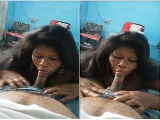 Today Exclusive- Horny Desi Wife Crazy to Suck Hubby Dick