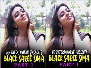 First On Net -BLACK SAREE SIMA Part 1